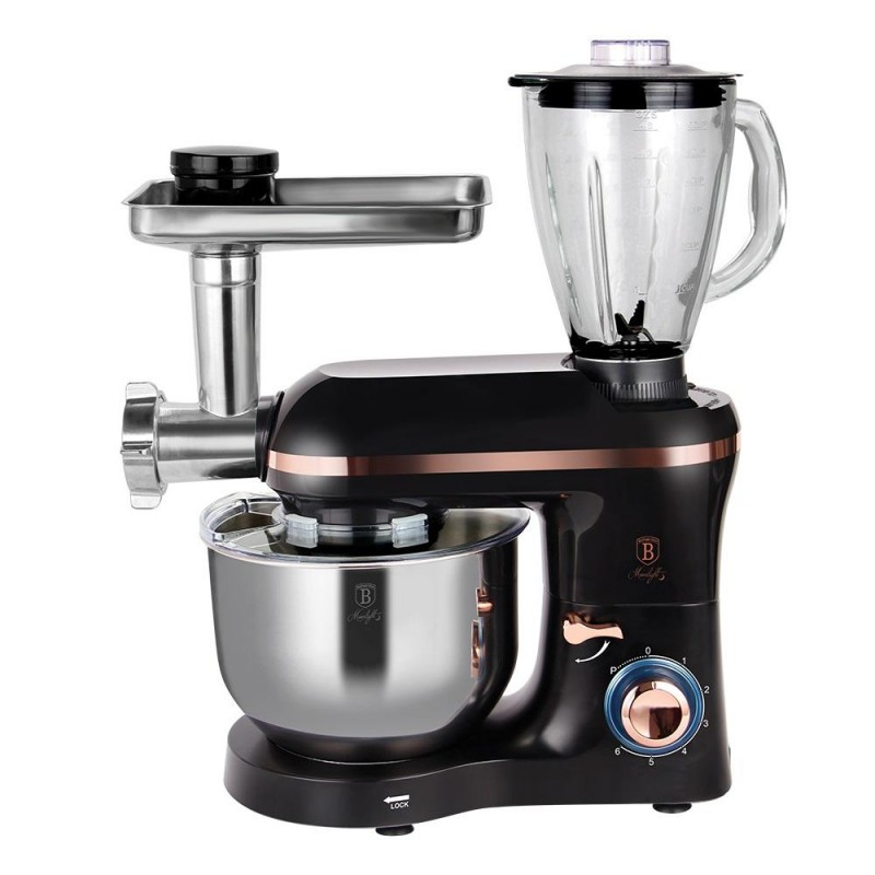 kitchen-machine-with-meat-mincer-black-rose-collection